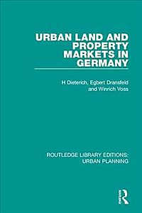 Urban Land and Property Markets in Germany