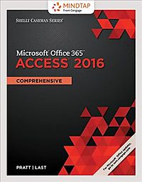 Shelly Cashman Series Microsoft Office 365 & Access 2016 + Mindtap Computing, 1 Term - 6 Months Access Card