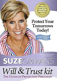 Suze Orman's Will & Trust Kit