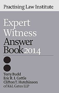 Expert Witness Answer Book 2014
