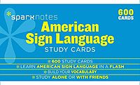Sparknotes American Sign Language Study Cards