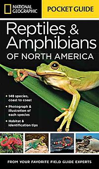 National Geographic Pocket Guide to Reptiles & Amphibians of North America