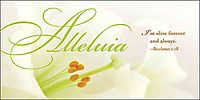 Alleluia Easter Lilies Offering Envelope 2014