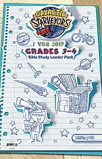 Vbs 2017 Bible Study Leader Pack, Grades 3-4