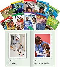 Time for Kids Informational Text Grade 1 Readers Set 2