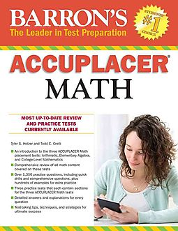 Barron's Accuplacer Math