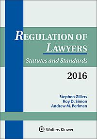 Regulation of Lawyers 2016