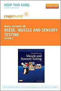Reese: Muscle and Sensory Testing, Pageburst, Access Code