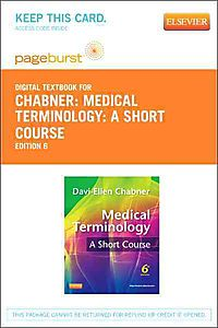 Medical Terminology Pageburst Access Code