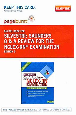 Saunders q a review for the nclex rn examination pageburst saunders q a review for the nclex rn examination pageburst pageburst access code saunders q a review for the nclex rn examination pageburst evolve malvernweather Choice Image