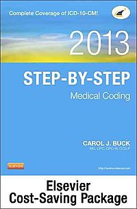 Step-by-Step Medical Coding 2013 + ICD-9-CM 2013 for Hospitals Volumes 1, 2, & 3 Standard Edition + HCPCS 2013 Level II Standard Edition + CPT 2013 Standard Edition