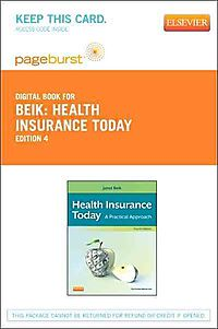 Health Insurance Today Pageburst on VitalSource Access Code