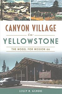 Canyon Village in Yellowstone