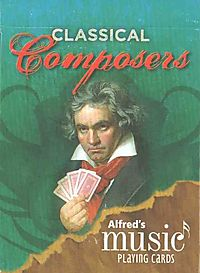 Alfred's Music Playing Cards - Classical Composers