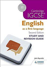 Cambridge Igcse English First Language Study & Revision Guide