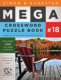 Simon & Schuster Mega Crossword Puzzle Book 18