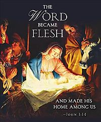 The Word Nativity Christmas Bulletin, Large
