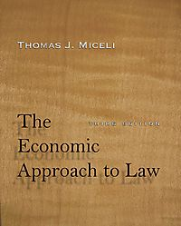 The Economic Approach to Law
