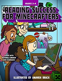 Reading Success for Minecrafters Grades 3-4