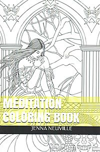 Meditation Adult Coloring Book