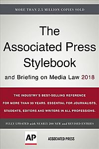 The Associated Press Stylebook 2018
