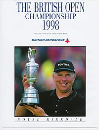 The British Open Championship 1998