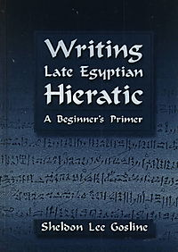 Writing Late Egyptian Hieratic
