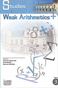 Studies in Weak Arithmetics