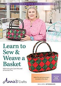 Learn to Sew & Weave a Basket Class