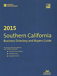 Harris Southern California Business Directory and Buyer's Guide 2015