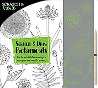 Scratch and Draw Botanicals