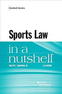 Sports Law in a Nutshell