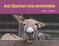 As? lIaman los animales / This is how the animals sounds