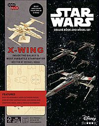 Incredibuilds Star Wars X-Wing Deluxe Book and Model Set