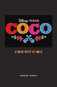Disney/Pixar Coco Cinestory Comic