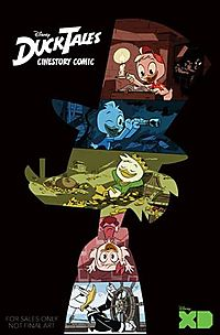 Disney Ducktales Cinestory Comic