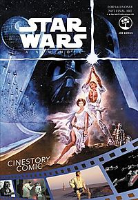 Star Wars A New Hope Cinestory Comic