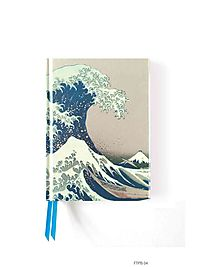 Hokusai?s the Great Wave Foiled Pocket Journal