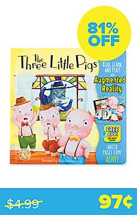 Three Little Pigs (4D Magic Augmented Reality)
