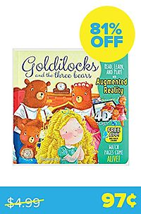 Goldilocks And The Three Bears (4D Magic Augmented Reality)