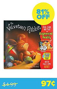 Velveteen Rabbit (4D Magic Augmented Reality)