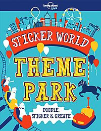 Lonely Planet Kids Sticker World - Theme Park