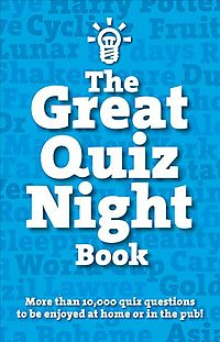The Great Quiz Night Book