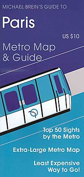 Michael Brein's Guide to Paris Metro Map & Guide