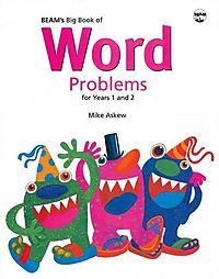 Beam's Big Book of Word Problems, Year 1 and 2 Set