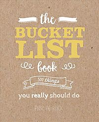 The Bucket List Book