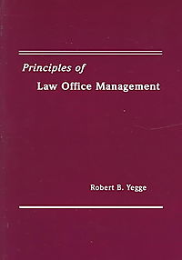 Principles Of Law Office Management