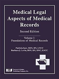 Medical Legal Aspects of Medical Records