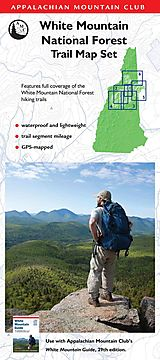 Appalachian Mountain Club White Mountain National Forest Trail Map Set