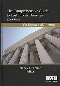 The Comprehensive Guide to Lost Profits Damages 2009